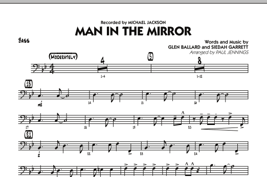 Man In The Mirror - Bass (Jazz Ensemble)