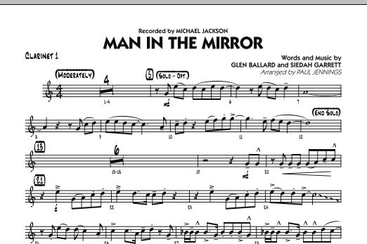 Man In The Mirror - Bb Clarinet 1 (Jazz Ensemble)