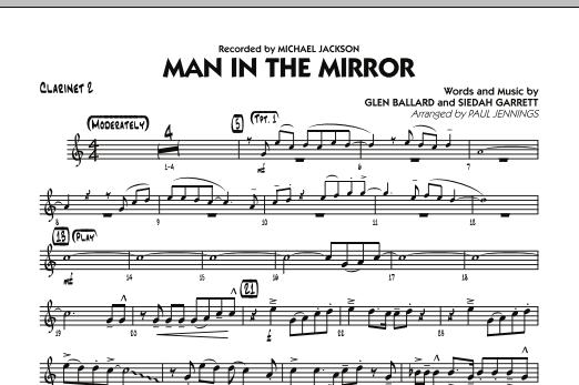 Man In The Mirror - Bb Clarinet 2 (Jazz Ensemble)