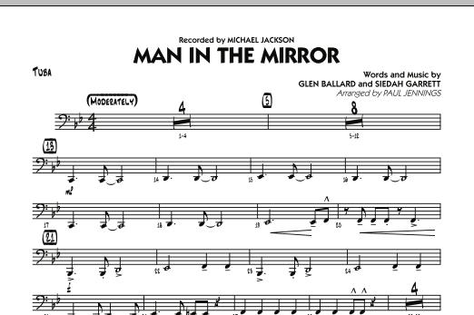 Man In The Mirror - Tuba (Jazz Ensemble)