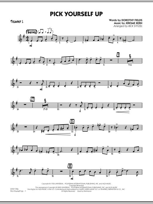 Pick Yourself Up - Trumpet 1 (Jazz Ensemble)