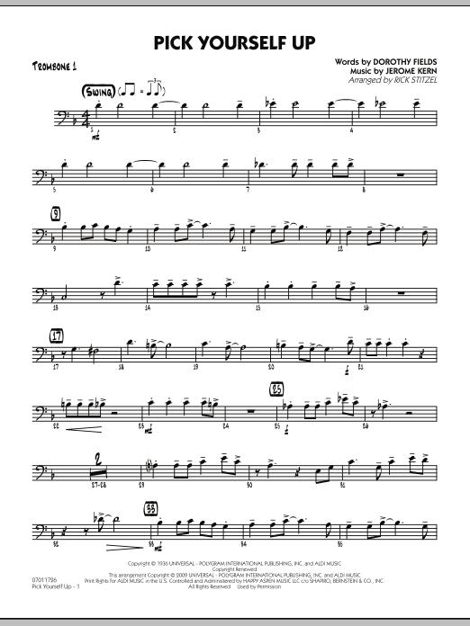 Pick Yourself Up - Trombone 1 (Jazz Ensemble)