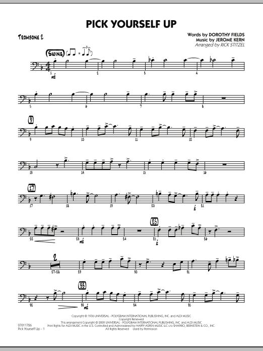 Pick Yourself Up - Trombone 2 (Jazz Ensemble)