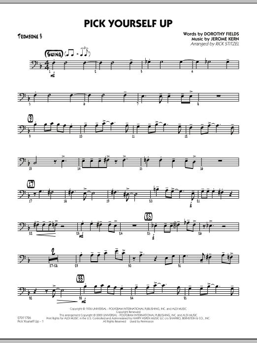 Pick Yourself Up - Trombone 3 (Jazz Ensemble)