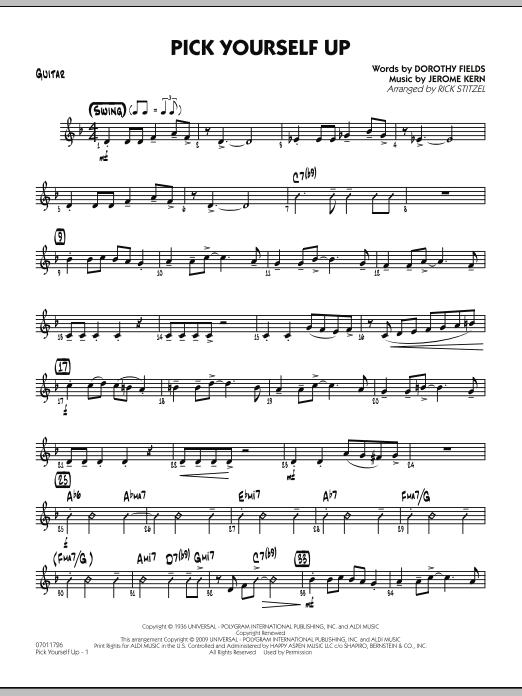 Pick Yourself Up - Guitar (Jazz Ensemble)