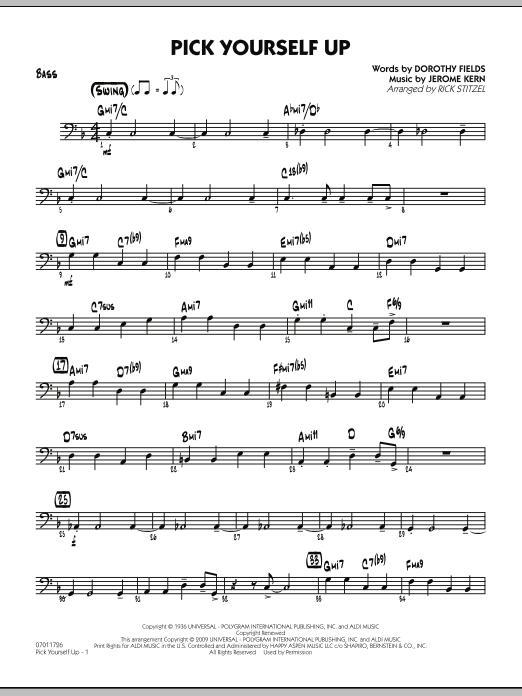 Pick Yourself Up - Bass (Jazz Ensemble)