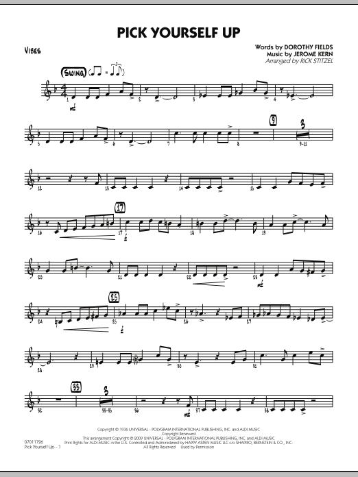 Pick Yourself Up - Vibes (Jazz Ensemble)