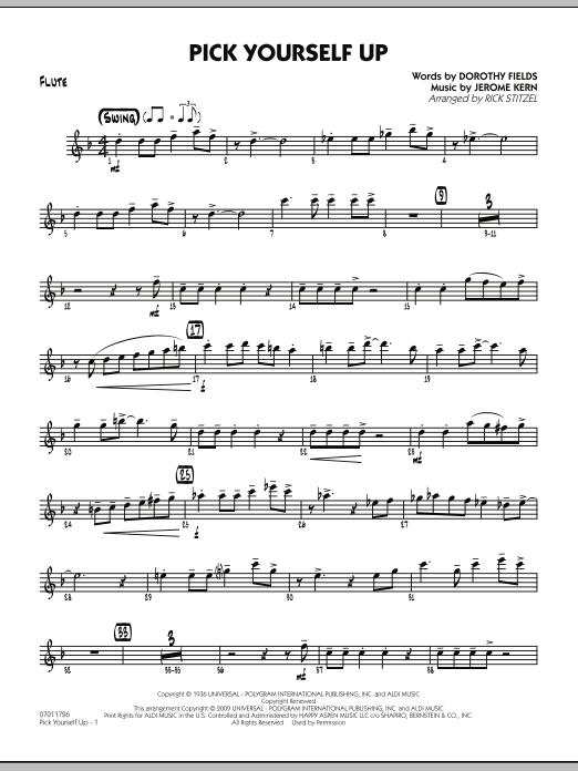 Pick Yourself Up - Flute (Jazz Ensemble)