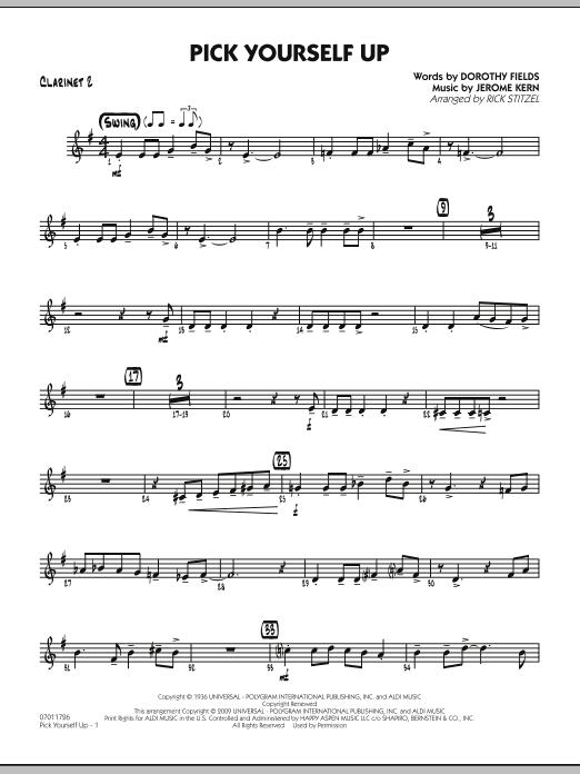 Pick Yourself Up - Clarinet 2 (Jazz Ensemble)