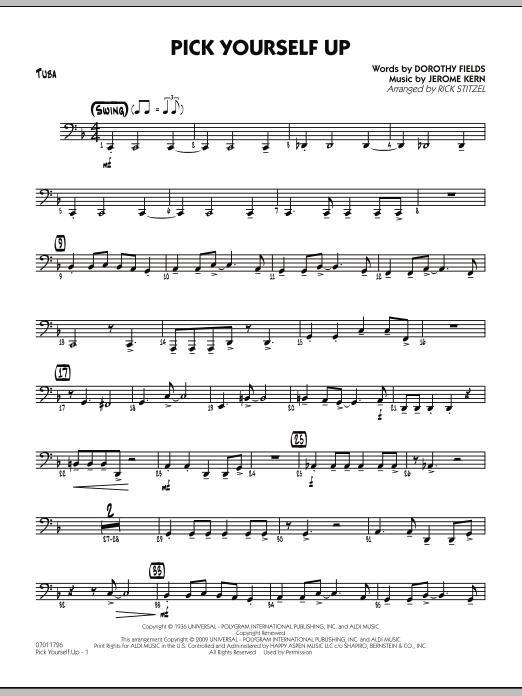 Pick Yourself Up - Tuba (Jazz Ensemble)
