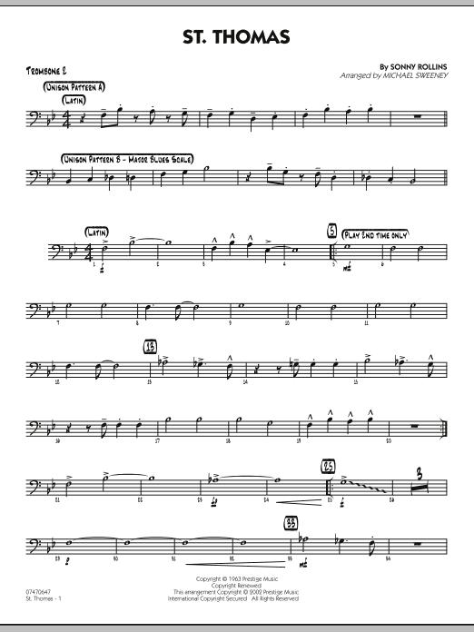 St. Thomas - Trombone 2 (Jazz Ensemble)