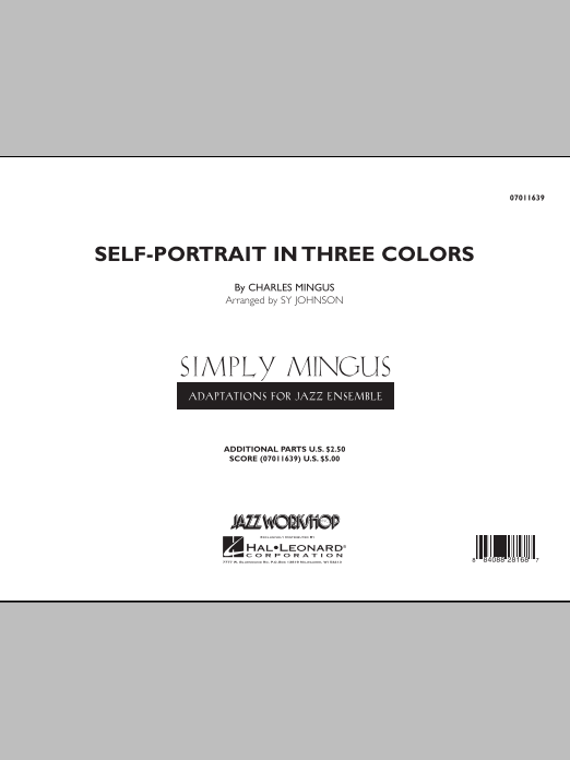 Self-Portrait In Three Colors (COMPLETE) sheet music for jazz band by Charles Mingus. Score Image Preview.