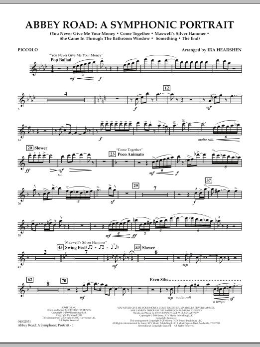 Abbey Road - A Symphonic Portrait - Piccolo (Concert Band)