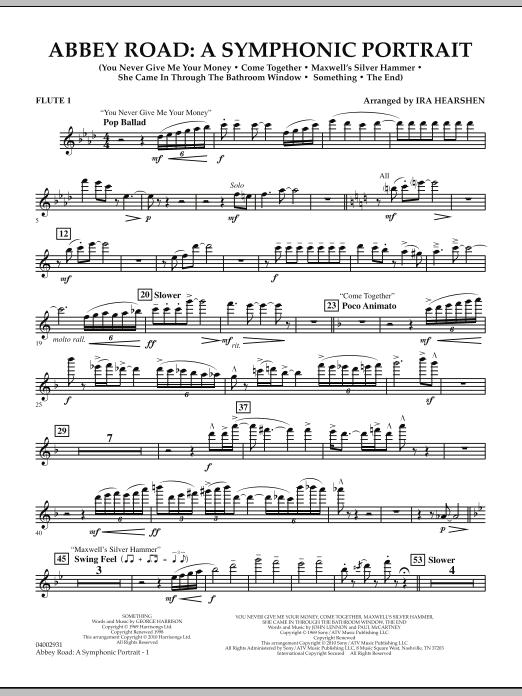 Abbey Road - A Symphonic Portrait - Flute 1 (Concert Band)