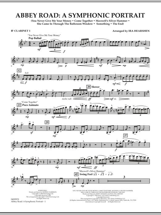 Abbey Road - A Symphonic Portrait - Bb Clarinet 1 (Concert Band)