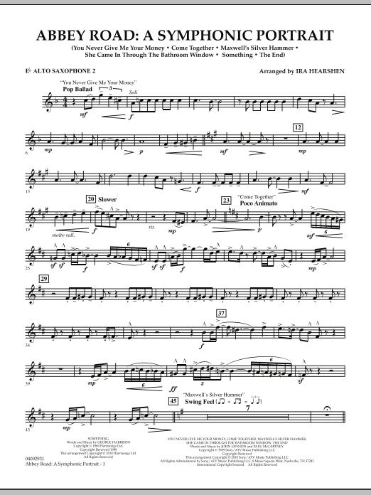 Abbey Road - A Symphonic Portrait - Eb Alto Saxophone 2 (Concert Band)