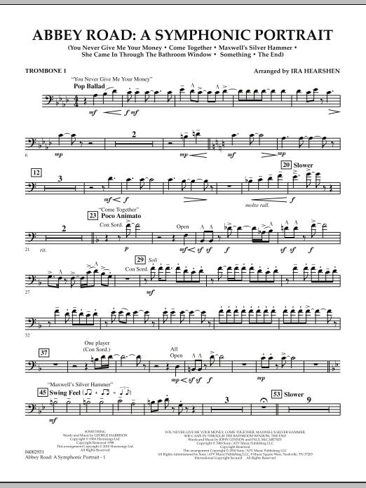 Abbey Road - A Symphonic Portrait - Trombone 1 (Concert Band)