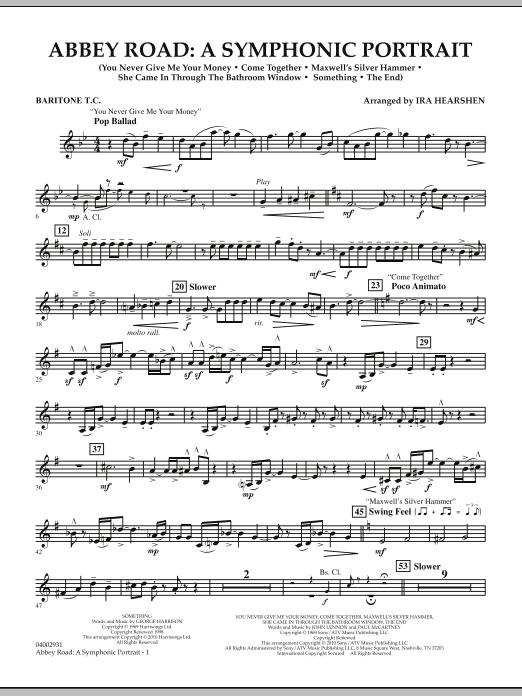 Abbey Road - A Symphonic Portrait - Baritone T.C. (Concert Band)