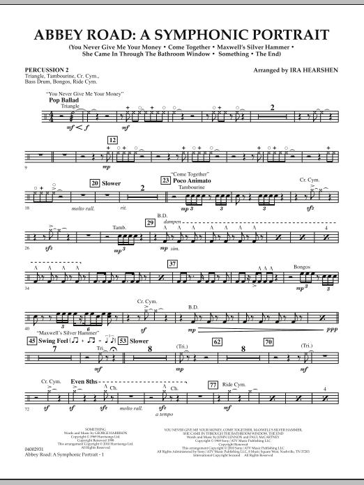 Abbey Road - A Symphonic Portrait - Percussion 2 (Concert Band)