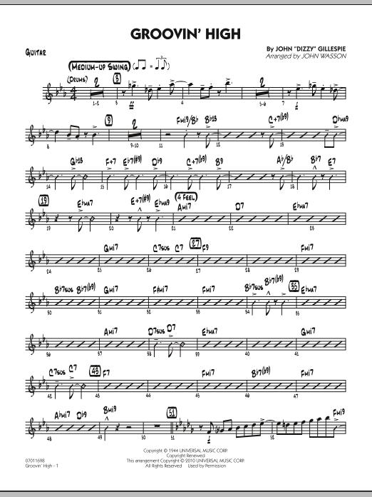 Groovin' High - Guitar (Jazz Ensemble)