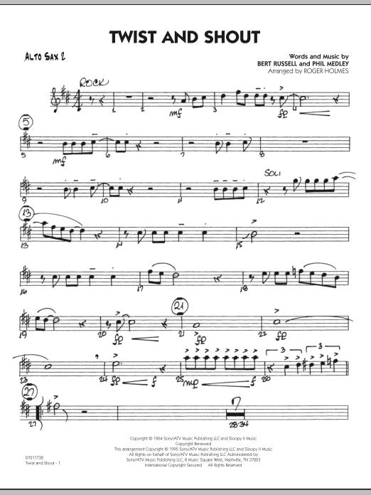 Twist And Shout - Alto Sax 2 (Jazz Ensemble)