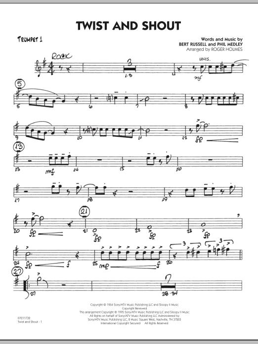 Twist And Shout - Trumpet 1 (Jazz Ensemble)
