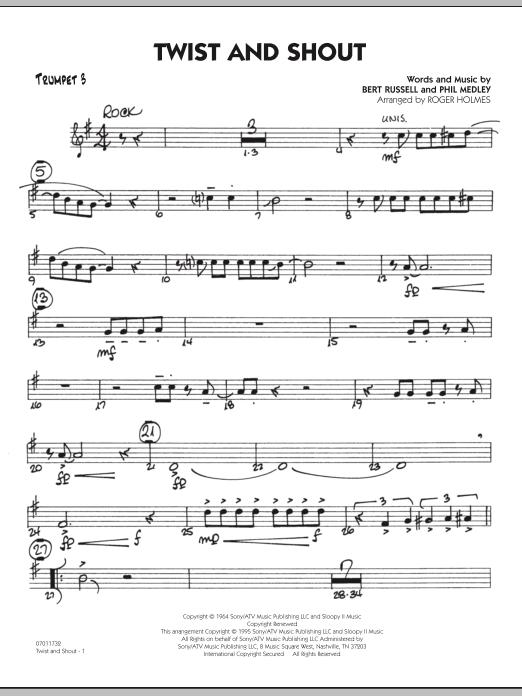 Twist And Shout - Trumpet 3 (Jazz Ensemble)