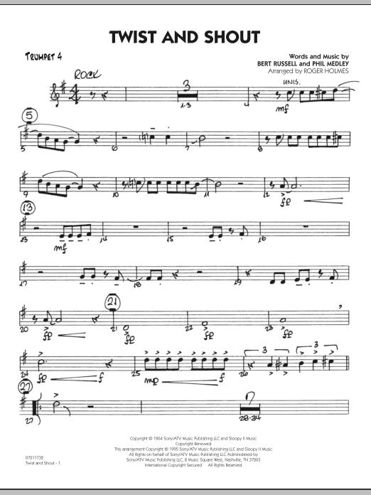Twist And Shout - Trumpet 4 (Jazz Ensemble)