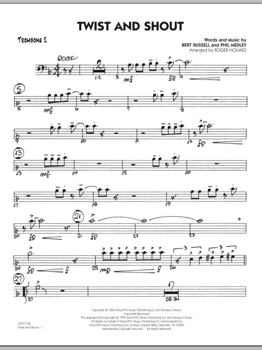 Twist And Shout - Trombone 2 (Jazz Ensemble)