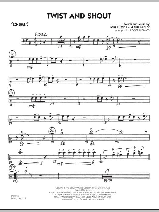 Twist And Shout - Trombone 3 (Jazz Ensemble)