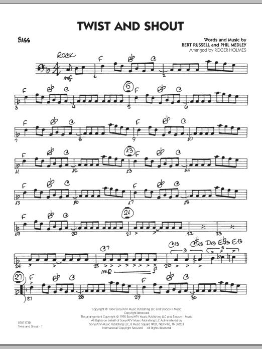 Twist And Shout - Bass (Jazz Ensemble)