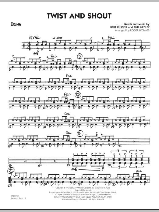 Twist And Shout - Drums (Jazz Ensemble)