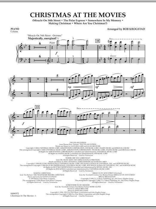 Christmas At The Movies - Piano (Full Orchestra)