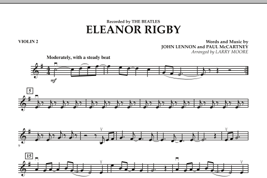 Eleanor Rigby - Violin 2 (Orchestra)