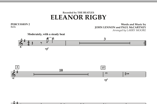 Eleanor Rigby - Percussion 2 (Orchestra)