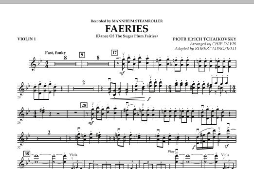 Faeries (from The Nutcracker) - Violin 1 (Orchestra)