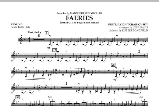 Faeries (from The Nutcracker) - Violin 3 (Viola T.C.) (Orchestra)