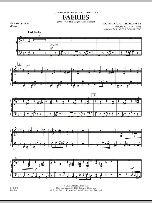 Faeries (from The Nutcracker) - Piano (Orchestra)