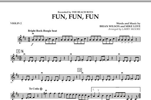 Fun, Fun, Fun - Violin 2 (Orchestra)