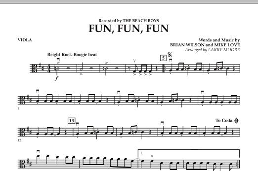 Fun, Fun, Fun - Viola (Orchestra)