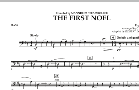The First Noel - String Bass (Orchestra)