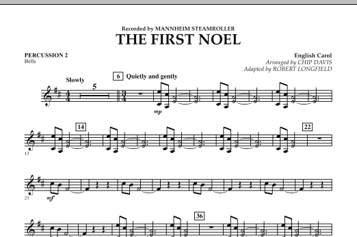 The First Noel - Percussion 2 (Orchestra)