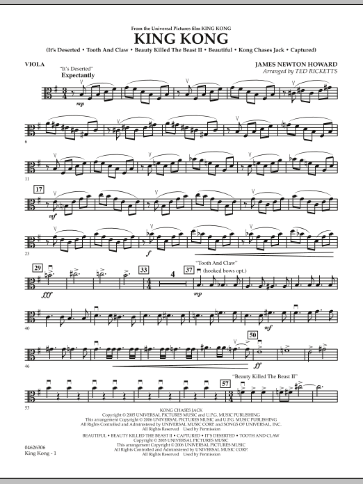 King Kong - Viola (Orchestra)