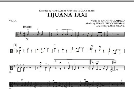 Tijuana Taxi - Viola (Orchestra)