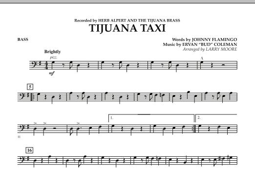 Tijuana Taxi - String Bass (Orchestra)