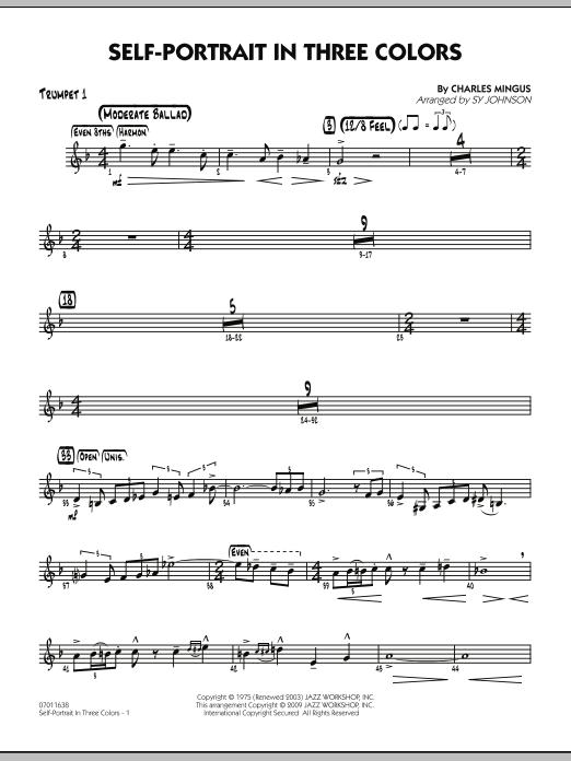 Self-Portrait In Three Colors - Trumpet 1 (Jazz Ensemble)
