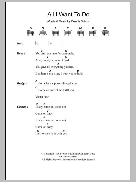 Sheet Music Digital Files To Print - Licensed Guitar Chords/Lyrics