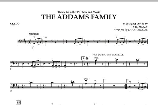The Addams Family - Cello (Orchestra)