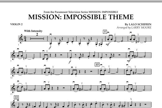 Mission: Impossible Theme - Violin 2 (Orchestra)