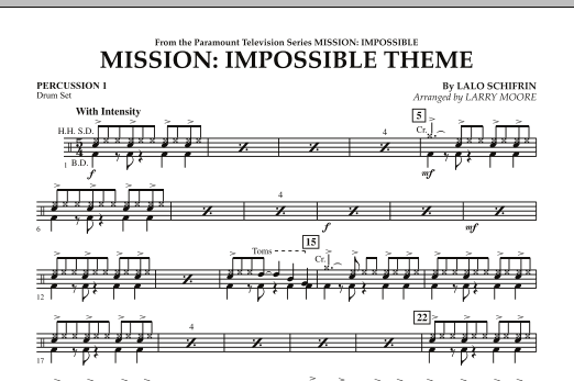 Mission: Impossible Theme - Percussion 1 (Orchestra)